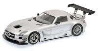 Mercedes-Benz SLS AMG GT3, silber