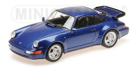 Porsche 911 turbo (964) 1990, blau