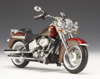 HD Softail Deluxe 2009, red hot