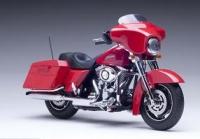 Harley-Davidson Street Glide 2010, rot
