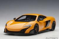 McLAREN 675LT, orange