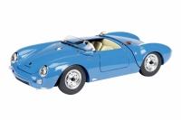 Porsche 550 Spyder, blau