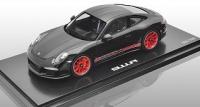 Porsche 911 R, schwarz/rot