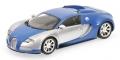 Bugatti Veyron Centenaire chrome/blue