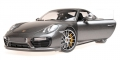 Porsche 911 (991) Turbo S, grau metallic