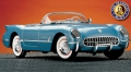 Corvette Roadster 1955, hellblau