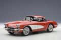 Corvette 1958, signet red