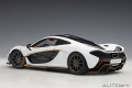 McLaren P1 alaskan diamond white/black
