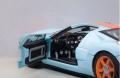 Ford GT 2004 Gulf #40, blue / orange