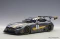 Mercedes-Benz AMG GT3, grau/gelb