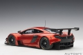 McLaren 650S GT3, volcano orange/black