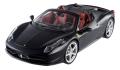 Ferrari 458 Italia Spider, matt schwarz