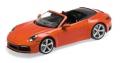 Porsche 911 (992) 4S Cabriolet, orange